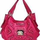 Betty Boop fashion tote/rhinestones w/ Wallet