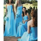 Floor Length Skirt Bridesmaid Dress (00207949)