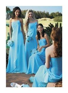 Floor Length Skirt Bridesmaid Dress (00207949)