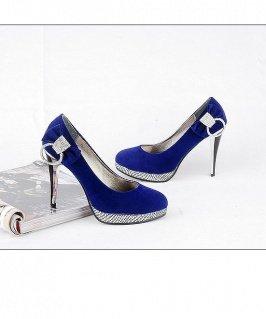 Diamond Embellished High Heels sz 4.5-7  (CD11032916-1)
