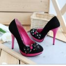 Bowknot  High Heels sz 4.5-7 (CD11040707-1)
