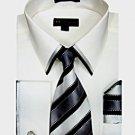 Mens White Dress shirt (Style:SG23W-H)