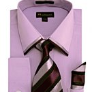 Mens Lavender Dress Shirt ( SG23L-H)
