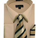 Mens Khaki Dress Shirt (SG23K-H)