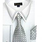 Mens white Dress shirt (SG22white-h)
