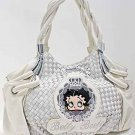 Betty Boop fashion handbag w/ matching wallet  B11K-35_WH