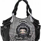 Betty Boop fashion handbag w/ matching wallet B11K-35_BK/WH