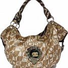 Betty Boop fashion handbag w/ matching wallet BB206C-1294_WH