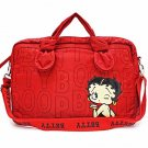 Betty Boop quilted fabric laptop case  MJ104_RD/BK