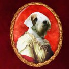 Sealyham Terrier Jewelry Brooch Handcrafted Ceramic - Noble Lady
