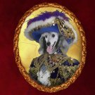 Poodle Jewelry Brooch Handcrafted Ceramic - Riche Pirate