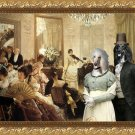 Afghan Hound Fine Art Canvas Print - The Concert