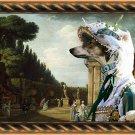Chart Polski Fine Art Canvas Print - The afternoon promenade in Rome