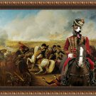 Hungarian Greyhound Fine Art Canvas Print - Bataille de Wagram