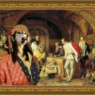 Saluki Fine Art Canvas Print -  Most beautifull Jewell