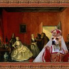 American Staffordshire Terrier Fine Art Canvas Print - Jewelry seller