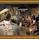 Cairn Terrier Fine Art Canvas Print - The Academicians of the Royal Academy