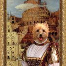 Cairn Terrier Fine Art Canvas Print - The Tower of Babel