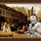 Miniature Bullterrier Fine Art Canvas Print -  Bon Voyage