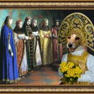 Parson Russell Terrier Fine Art Canvas Print - The most beatiful bride in the village