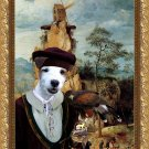 Parson Russell Terrier Fine Art Canvas Print - Portement of Cross