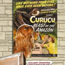 Cavalier King Charles Spaniel Poster Canvas Print -  Curucu, Beast of the Amazon