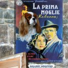 Cavalier King Charles Spaniel Poster Canvas Print -  Rebecca