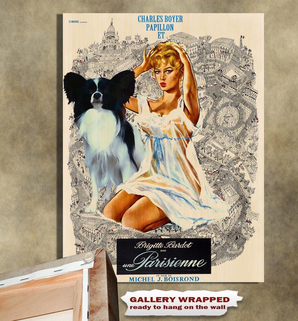 Papillon Poster Canvas Print -  Une Parisienne
