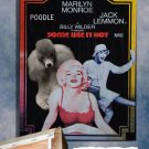 Poodle Poster Canvas Print -  Some Like It Hot