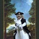 Bergamasco Shepherd Dog Fine Art Canvas Print - The King's messanger
