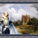 Bobtail Fine Art Canvas Print - Glory instead of fortune