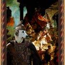 Cane da pastore Maremmano Abruzzese Fine Art Canvas Print  - The hero of the triumph