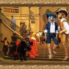Collie Rough Fine Art Canvas Print - The musqeteers of the king