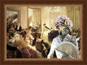 Czechoslovakian Wolfdog Fine Art Canvas Print - The Concert