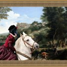 Groenendael Fine Art Canvas Print - Pan seducing the Duchess