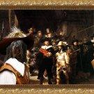 Schapendoes Fine Art Canvas Print - The Nightwatch