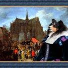 Shetland Sheepdog Fine Art Canvas Print - Arrival of Cardinal