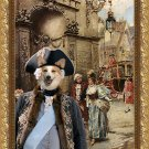 Welsh Corgi Pembroke Fine Art Canvas Print - Baron and his baronessa