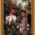 Broholmer Fine Art Canvas Print - To the cover