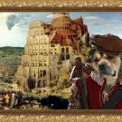Ca De Bou Fine Art Canvas Print - The Tower of Babel