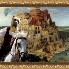 Cane Corso Fine Art Canvas Print - The Tower of Babel