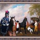 Cao da Serra da Estrela Fine Art Canvas Print - The Prince of Wales's Phaeton