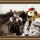 Central Asian Shepherd Dog Fine Art Canvas Print - Giddy Up