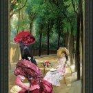 Dogo Canario Fine Art Canvas Print - A Lazy Afternoon