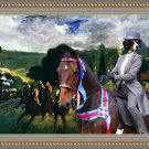 Entlebucher Sennenhund Fine Art Canvas Print - Who is the winner of the race