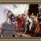 German Boxer Fine Art Canvas Print - The reverance to the Queen