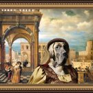 Great Dane Fine Art Canvas Print - A crusader bride