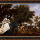 Great Dane Fine Art Canvas Print - Henri IV and his Suite Hunting