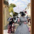 Great Dane Fine Art Canvas Print - Summer Day
