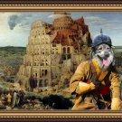 Kraski ovcar Fine Art Canvas Print - The Tower of Babel